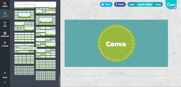 Canva Layout