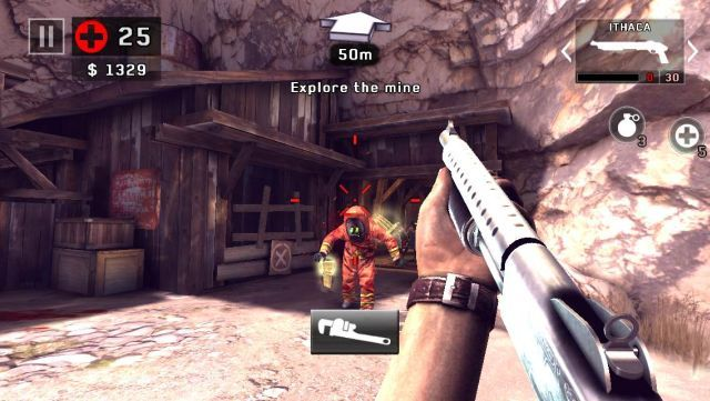 Dead trigger 2 a refined shooter for the casual mobile gamer dead trigger 2 shotgun malvernweather Choice Image