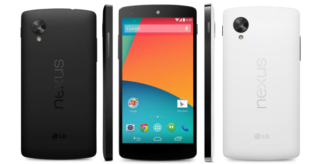 It's Official: Nexus 5 And Android 4.4 KitKat Are Here