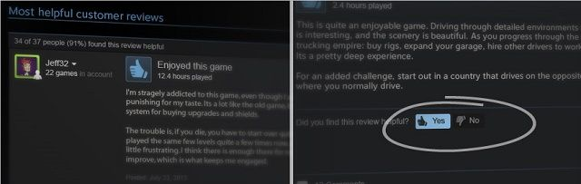 steam introduces user reviews for improved game ratings