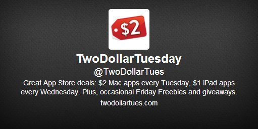 TwoDollarTuesday-Track-App-Discounts-Deals-On-Twitter