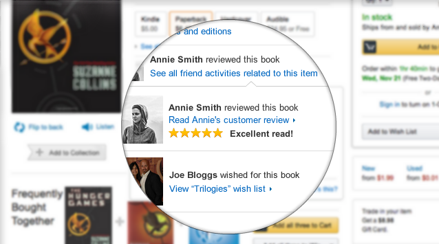 Amazon Makes Your Shopping Experience More Social By Teaming Up With Facebook amazonfacebook