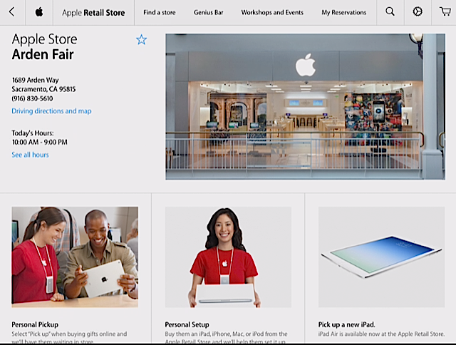 Apple store retail 2