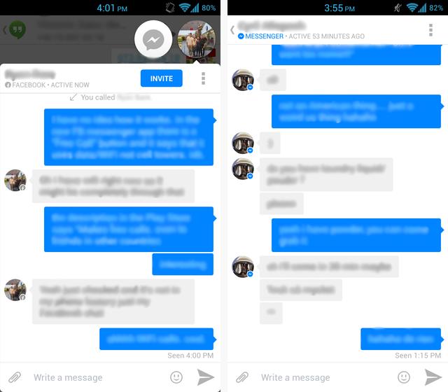 Android Messaging App Faceoff Google Hangouts Vs Facebook Messenger