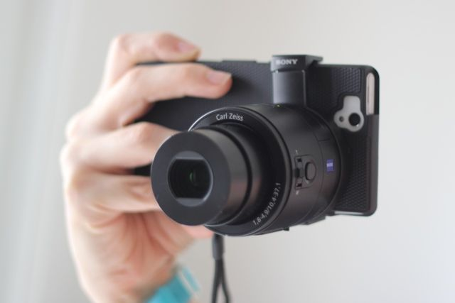 Sony DSC-QX100 Smartphone Attachable Lens Review and Giveaway dsc qx100 2