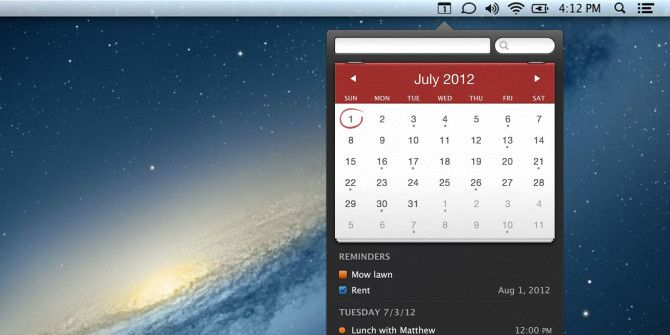 Manage Your Calendar From The Mac Menubar With Fantastical