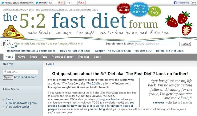 How To Lose Weight...Fast - The Best Web Resources For Fasting Diets fast diet forum