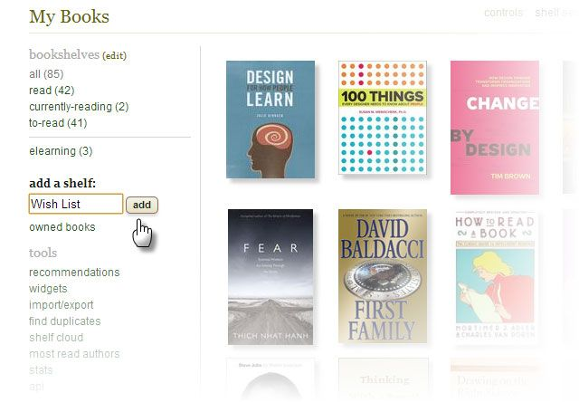 Goodreads Wish List