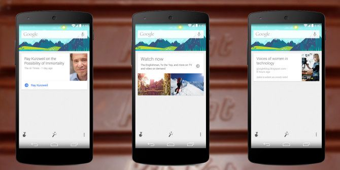 Google Search Update Brings Android 4.4 KitKat Features To Older Versions