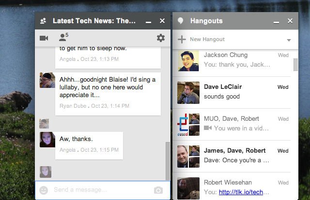 Someone Finally Made Google Hangouts Better On Desktop hangouts chrome chat