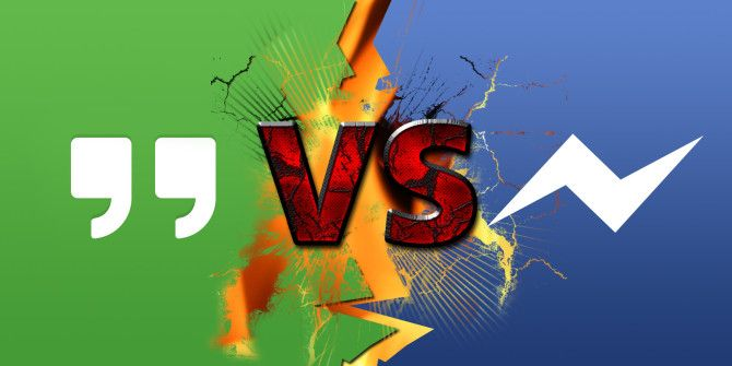 Android Messaging App Faceoff: Google Hangouts vs. Facebook Messenger
