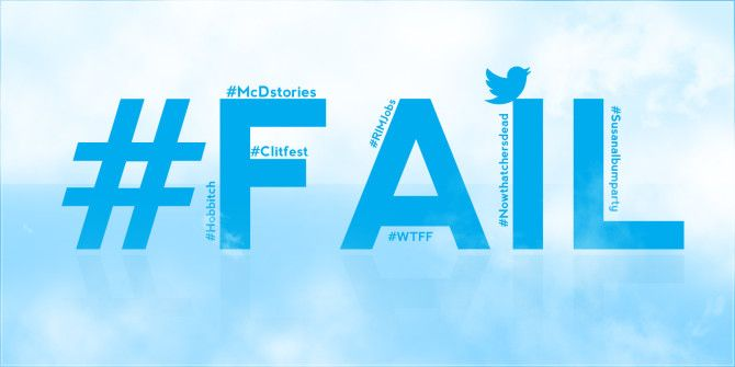 How Not To Twitter: 7 Hashtag Fails To Learn From
