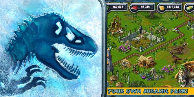 Create Your Own Dinosaur Theme Park With Jurassic Park Builder