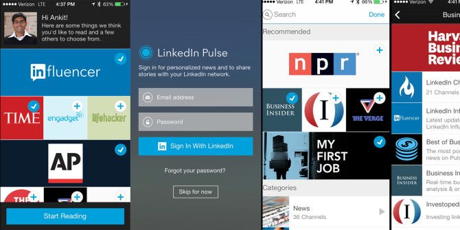 LinkedIn Integrates With Pulse For Professional News Aggregation, Social Sharing