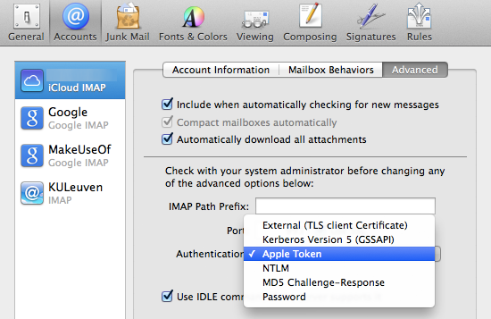 5 OS X Mavericks Quirks, And How To Deal With Them mail account pref