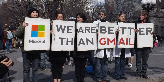 Microsoft Aims To Lure Gmail Users With A Blunt Comparison Website