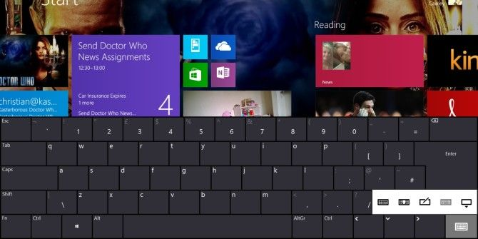 How To Best Use Or Disable The Windows 8 Touch Keyboard