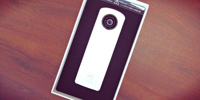 Ricoh Theta Review and Giveaway