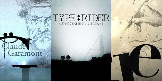 Fun With Fonts: Type:Rider Is A Beautiful Puzzle-Platform Game On Typography