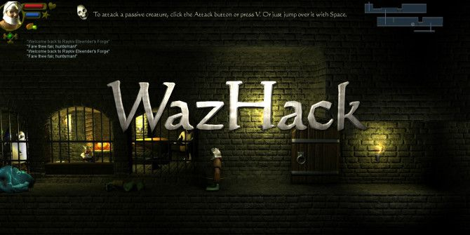 WazHack: A Free Side-Scrolling Roguelike for iOS & Android