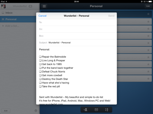 Wunderlist Is A Compelling Alternative To Plain Old iOS Reminders wunderlist8