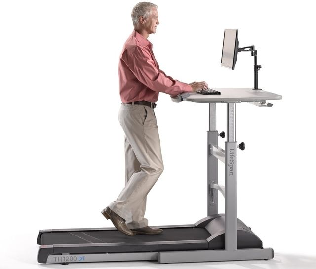 7.1 treadmill desk