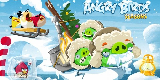 angry birds seasons arctic eggspedition launches one new level each day till christmas - Christmas Angry Birds