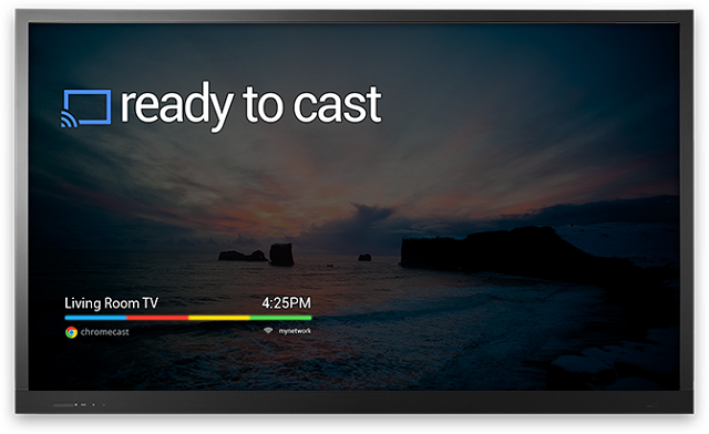 Chromecast-Screen