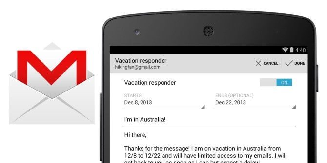 Gmail 4.7 for Android Adds Vacation Responder and Finally Downloads and Attaches Any File