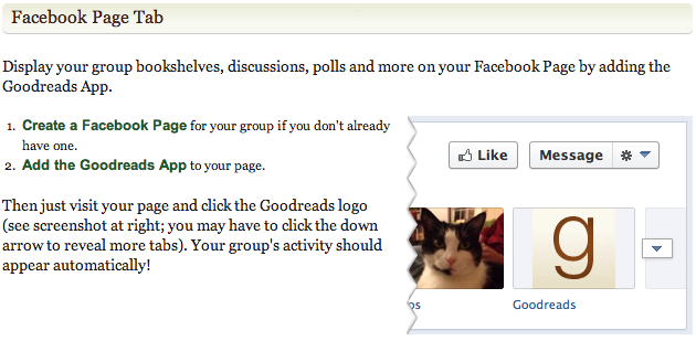 Goodreads-Group-Facebook page 2