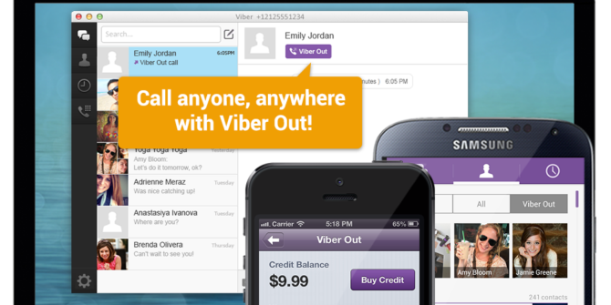 Make Low-Cost Phone Calls Worldwide With 'Viber Out' on Viber 4.1
