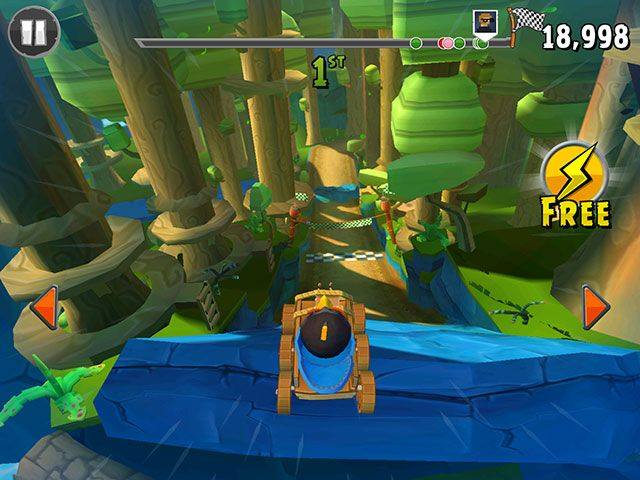 Angry Birds Go! Review: Can The Birds Survive The Free-to-Play Jump? ab go race1