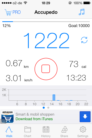 Get Fit By Tracking Your Steps With Accupedo accupedo2
