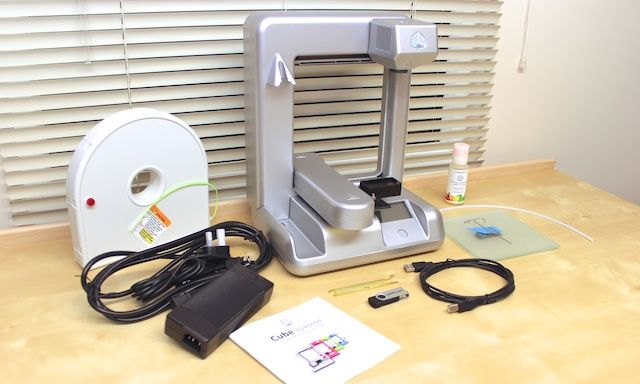 cubify cube 3d printer review
