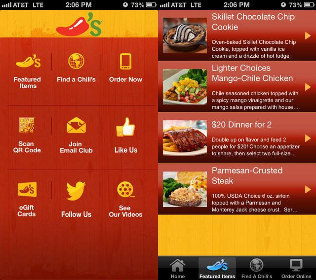 From Food Menus to Photo Blogging: My 10 Favorite iOS Apps of 2013 chilis iphone