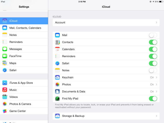 iCloud Keychain: Why You Want It & How To Use It icloud settings on ios