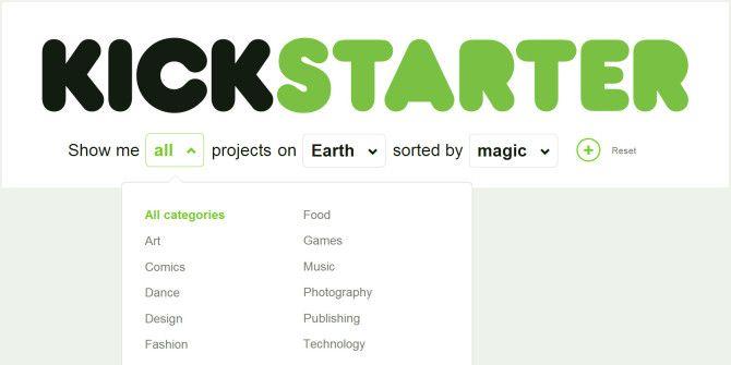 Advanced Search Finally Comes to Kickstarter