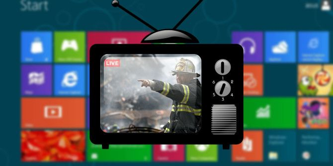 6 Ways to Watch Live TV on Windows 8