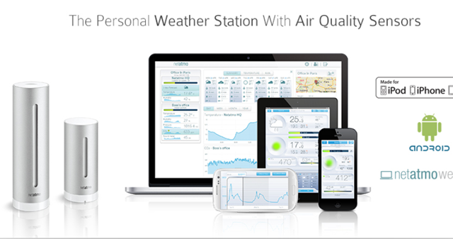 Netatmo Weather Station Review and Giveaway netatmo