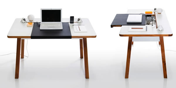 Wonderful Working Towards A Clutter Free World, Blueloungeu0027s Products Are All About  Hiding Cables, And The StudioDesk Is Their Top Of The Line. While The Desk  Itself ...