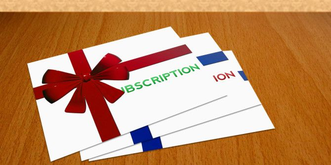 Top 5 Online Subscriptions You Can Give As Gifts