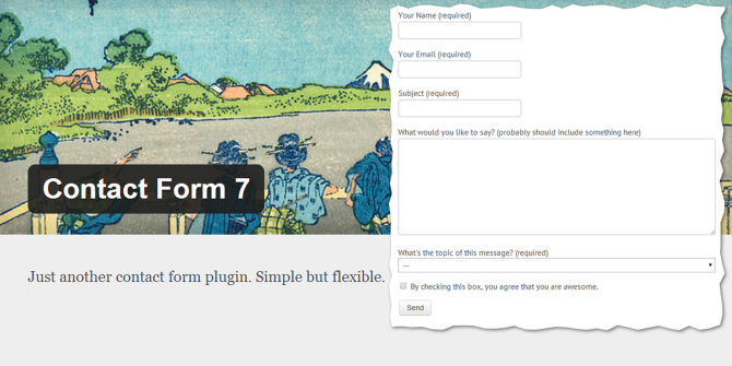 Contact Form 7: The Best Contact Form Plugin For WordPress