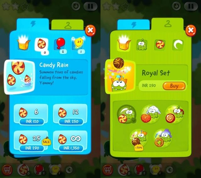 Cut-The-Rope-2-In-app-purchases