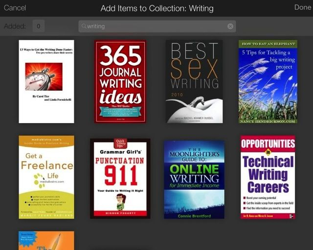 Kindle collections 2