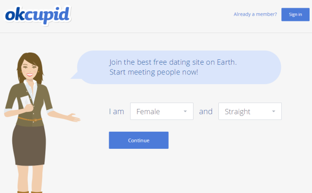 Okcupid log in
