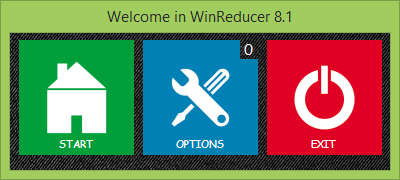 WinReducer 8 Start Screen