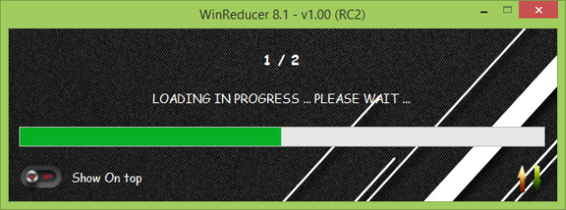 WinReducer Loading