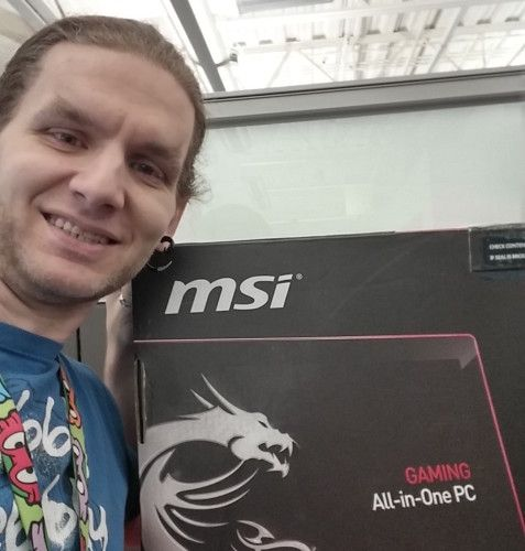 aaron h - msi gaming pc