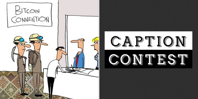 Caption Contest: Bitcoin Convention
