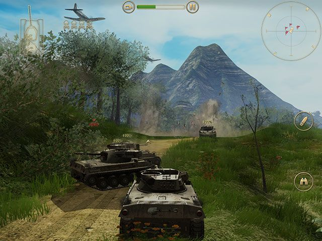 Battle Supremacy Brings Tank Warfare To iOS, But Is It Any Good? bs flyover